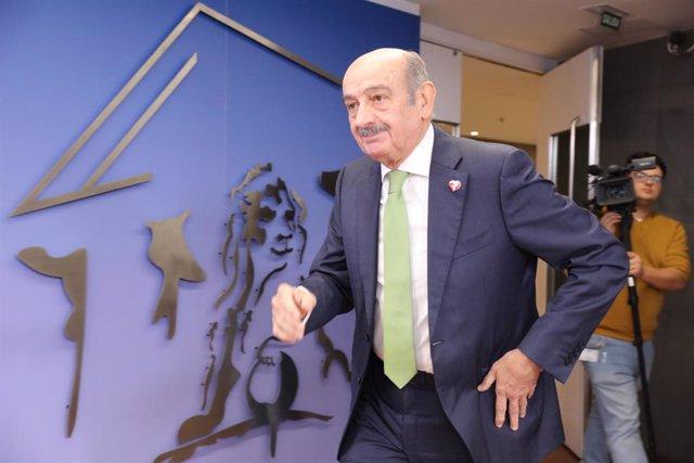 El diputado del Partido Regionalista de Cantabria (PRC), José María Mazón