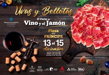 Santa Cruz acoge 'Uvas y Bellotas, la I Feria del Vino y el Jamón'