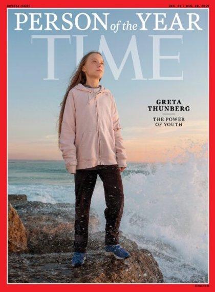 La revista 'Time' nombra Persona del Año a Greta Thunberg, la más joven en conseguir el galardón
