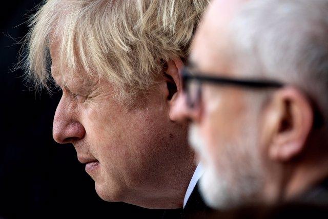 Boris Johnson y Jeremy Corbyn