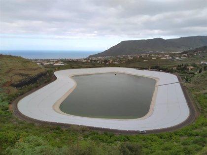 Concluyen las obras de mejora de la balsa de Valle Molina tras una inversión de 651.000 euros