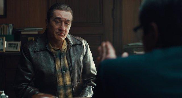 Robert De Niro, rejuvenecido en 'El irlandés', la nueva película de Martin Scorsese