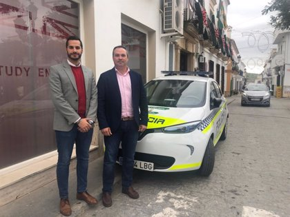 Paterna de Rivera dispone de un nuevo vehículo policial eléctrico