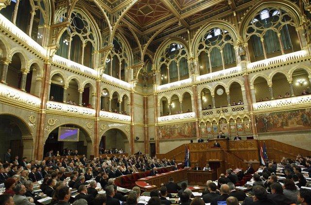 Parlamento de Hungría.
