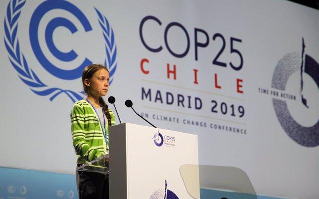 COP25.- Greta Thunberg vuelve a Suecia tras participar en la Cumbre del Clima