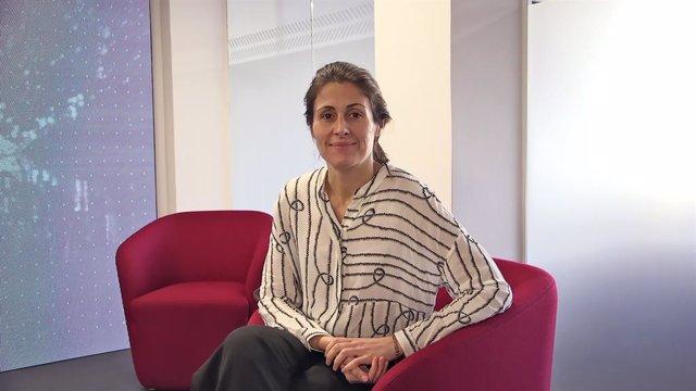 La directora d''El Periódico de Catalunya', la periodista Anna Cristeto Massaneda, en el TKL Talk Series, a Barcelona l'11 de desembre del 2019