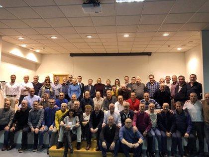 La Junta reconoce la labor de 80 policías locales ocho bomberos del Ayuntamiento de Valladolid que se jubilan