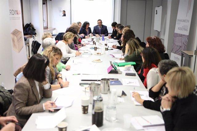 Reunión del Consejo Navarro de la Igualdad