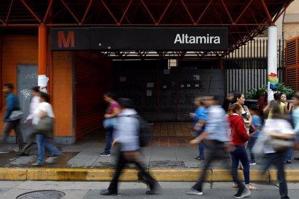 Seis heridos al descarrilar un tren del Metro de Caracas