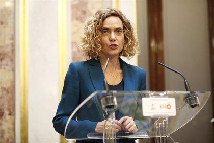 Meritxell Batet supedita la fecha del debate de investidura a las negociaciones de Pedro Sánchez