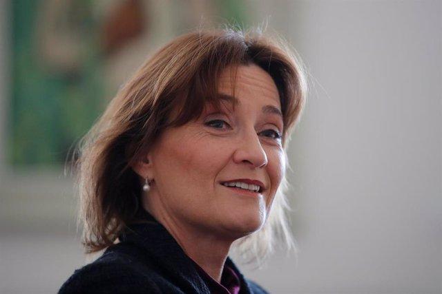 La ministra de Asuntos Exteriores de Suiza, Pascale Baeriswyl