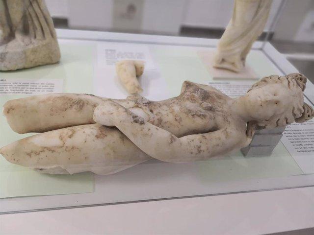 Venus Púdica descubierta en las excavaciones de la antigua Villa Romana de Salar, en imagen de archivo