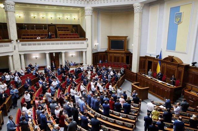 Parlamento de Ucrania
