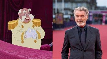 Foto: Pierce Brosnan será el Rey en la Cenicienta de Camila Cabello