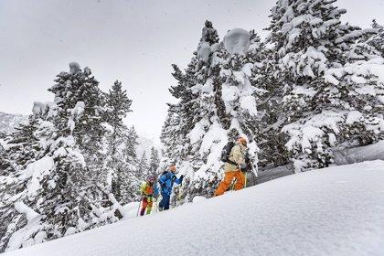 Grandvalira alcanza los 130 kilómetros esquiables y celebra la primera prueba de la Copa de Andorra de 'skimo'
