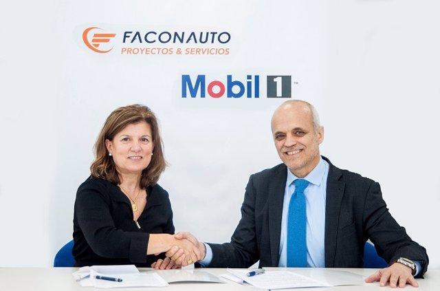 Faconauto y Exxon Mobil acuerdan distribuir lubricantes para automóviles en concesionarios.
