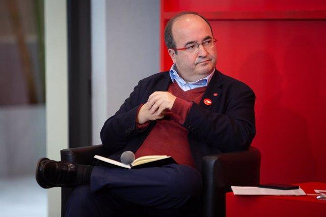 El secretari general del PSC, Miquel Iceta, en una imatge d'arxiu.