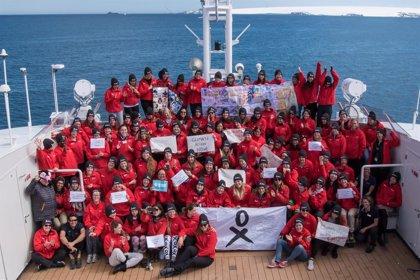 Culmina la mayor expedición femenina a la Antártida coincidiendo con el bicentenario de su descubrimiento