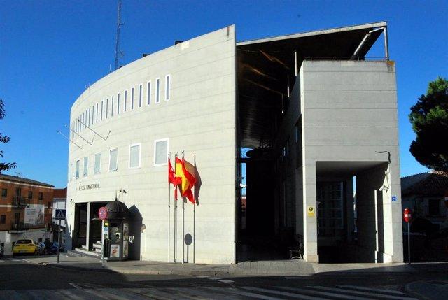 Imagen de recurso de la sede del Ayuntamiento de Parla.