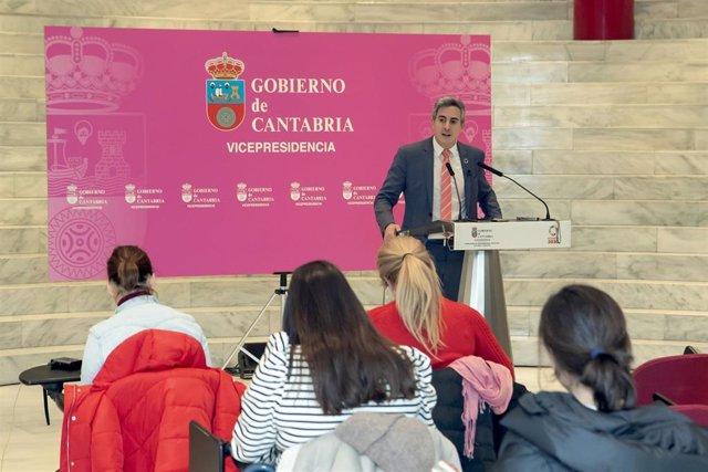 El vicepresidente de Cantabria, Pablo Zuloaga