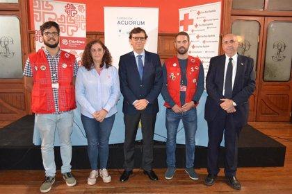 Cruz Roja y Cáritas Diocesana de Canarias recibirán 20.000 euros donados por la Fundación Acuorum