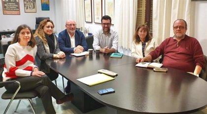 """Noguera defiende impulsar """"el diálogo y la concertación social"""" en una reunión con CCOO"""