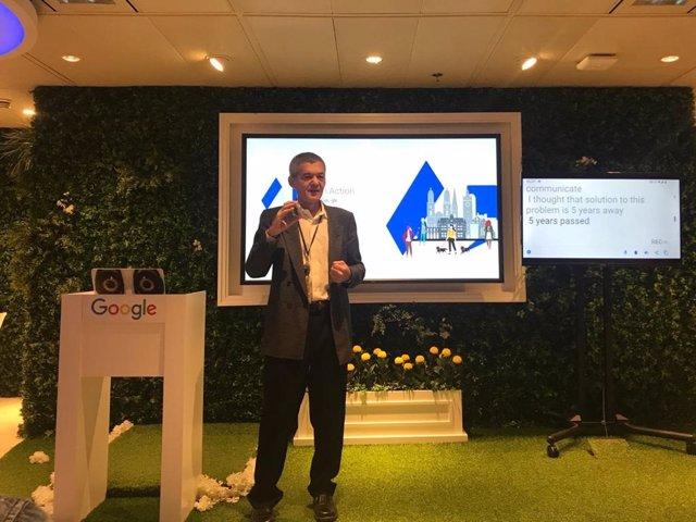 Dimitri Kanevsky, científico de Google
