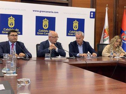 El Cabildo de Gran Canaria prevé abrir este fin de semana el carril central de la GC-1