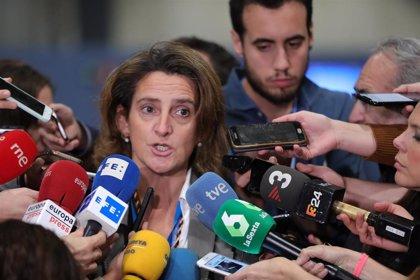 Teresa Ribera admite tensión entre los países que quieren avanzar y los que no y un 'stand by' en la negociación