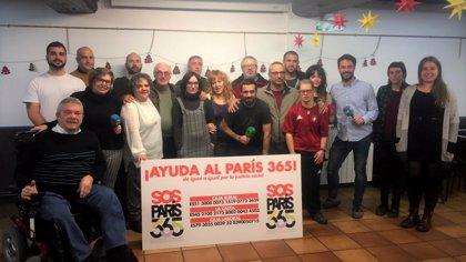 """El comedor social Paris 365 pone de manifiesto su """"delicada situación"""" que podría derivar en su cierre en febrero"""