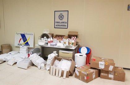 Intervenidos 220 kilos de metanfetamina en Vallecas al desmantelar un laboratorio donde se procesaba la droga
