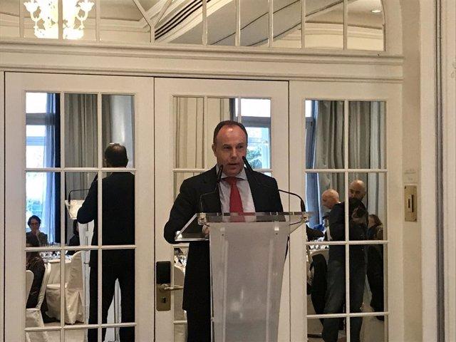 El presidente de la Federación Nacional Empresarial de Alquiler de Vehículos (Feneval) , Juan Luis Barahona.