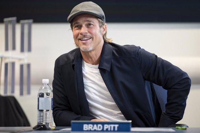 Brad Pitt durante la promoción de Ad Astra