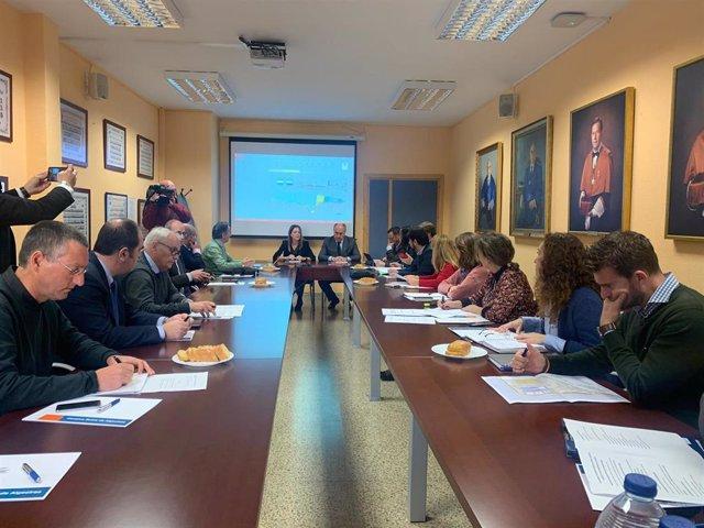 Reunión para la integración del puerto-ciudad en Algeciras