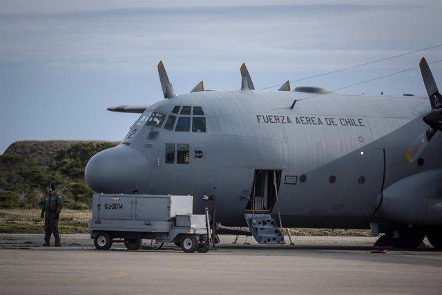 Avión de la Fuerza Aérea de Chile (FACh)