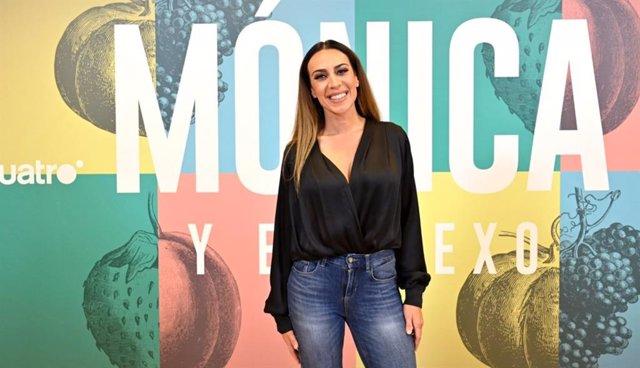 Mónica Naranjo en la presentación de su docuserie para Cuatro 'Mónica y el sexo'