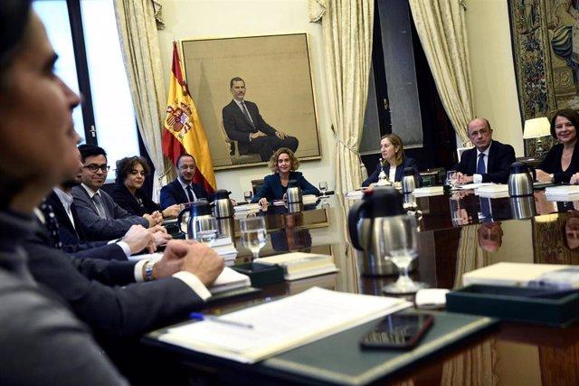 Reunión de la Mesa del Congreso