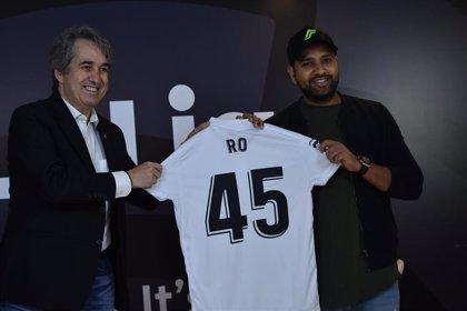 LaLiga anuncia su primer patrocinador regional en India y nombra embajador a la estrella del críquet Rohit Sharma