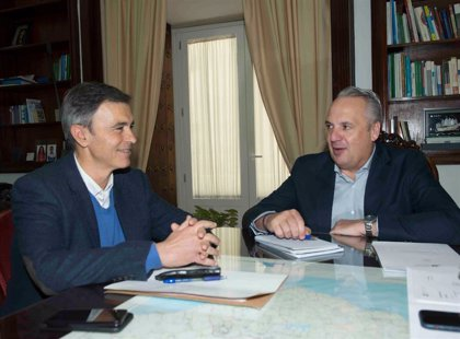 Diputación y Ayuntamiento de Algodonales estudian los datos tributarios y planifican el ejercicio fiscal