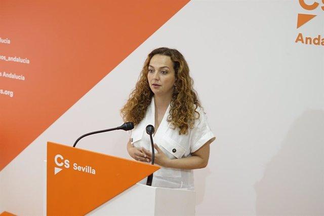 La parlamentaria autonómica de Cs por Sevilla Marta Escrivá