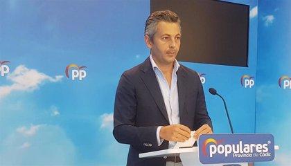 """El secretario general del PP de Cádiz anuncia que abandona el cargo por motivos """"estrictamente personales"""""""