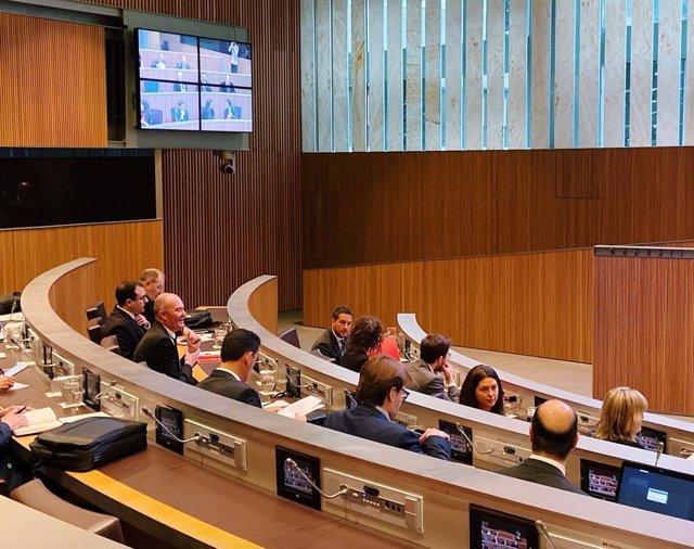 La sessió del Consell General d'Andorra d'aquest dijous