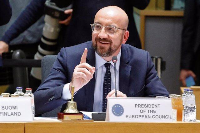 Charles Michel en Bruselas