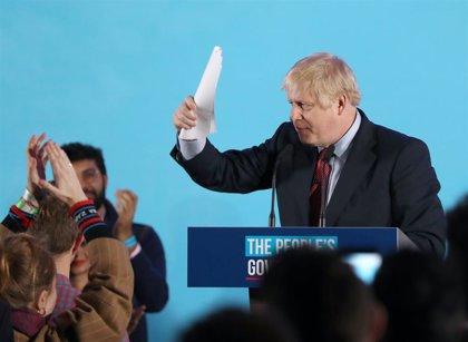 """Johnson proclama que el pueblo británico ha votado de forma """"irrefutable"""" e """"indiscutible"""" por el Brexit"""