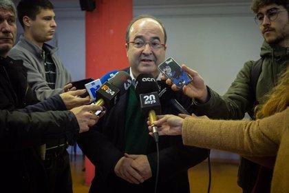 Iceta espera que se encuentre un formato para que puedan dialogar los dos gobiernos y critica a Page y Lambán