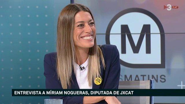 Míriam Nogueras a TV3