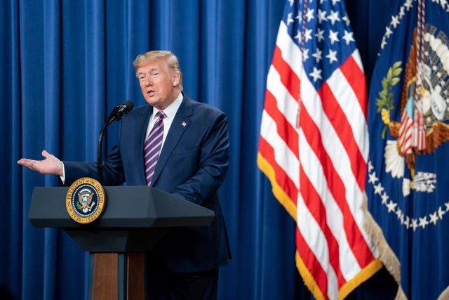 El president dels Estats Units, Donald Trump, a la Casa Blanca