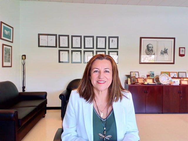 La delegada de Educación e Igualdad de la Junta en Almería, María del Carmen Castillo