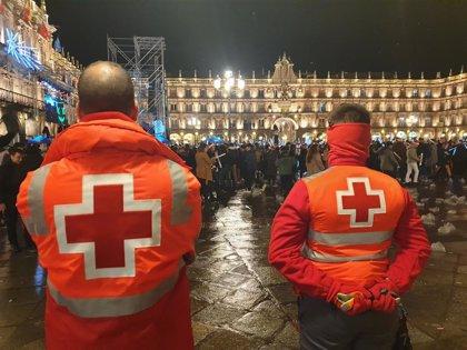 Cruz Roja atiende seis intoxicaciones durante la celebración del Fin de Año Universitario en Salamanca