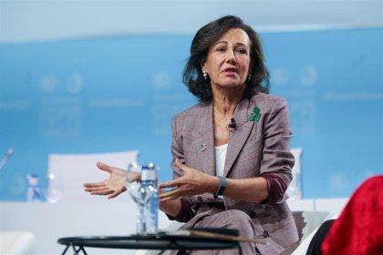 """La presidenta del Banco Santander descarta otra adquisición bancaria: """"No compraremos más"""""""